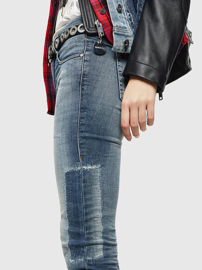 Diesel - D-Ollies JoggJeans 069JZ, Light Blue - Jeans - Image 4