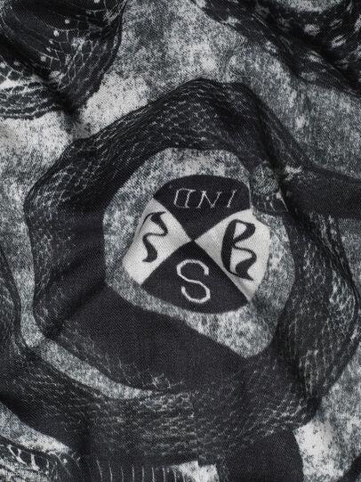 Diesel - SPAKKI, Black/Grey - Scarves - Image 3