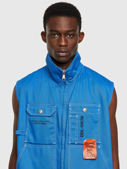 Diesel - J-HOWE, Blue - Jackets - Image 3