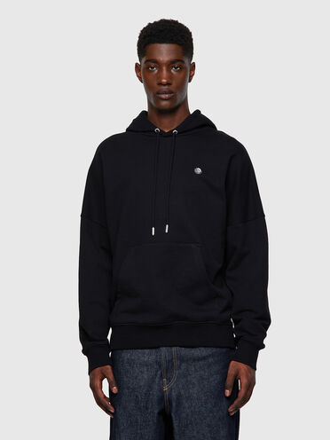 Green Label hoodie with Mohawk patch
