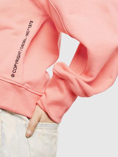 Diesel - F-AKIN, Pink - Sweatshirts - Image 3