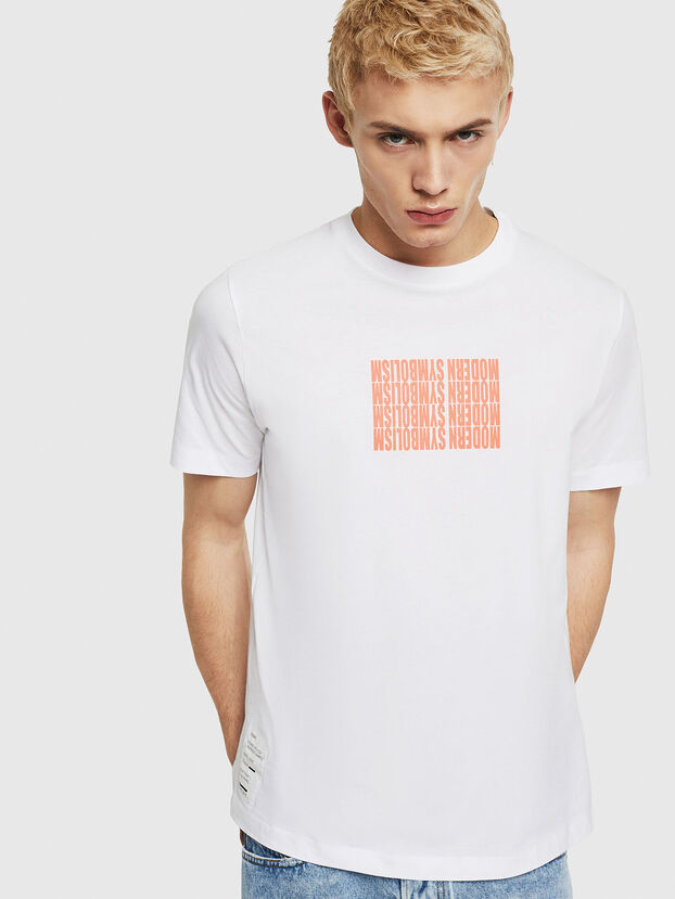 T-JUST-Y11, White - T-Shirts