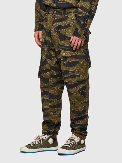 Diesel - P-BARTON, Verde Militar - Pantalones - Image 5