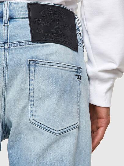 Diesel - D-Strukt Tapered JoggJeans® Z69VL, Light Blue - Jeans - Image 3