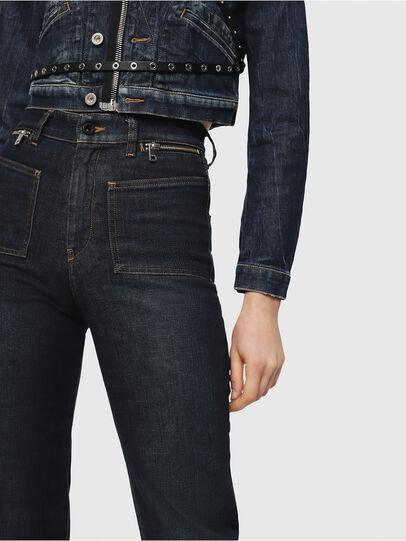 Diesel - D-Pending 080AK, Dark Blue - Jeans - Image 3