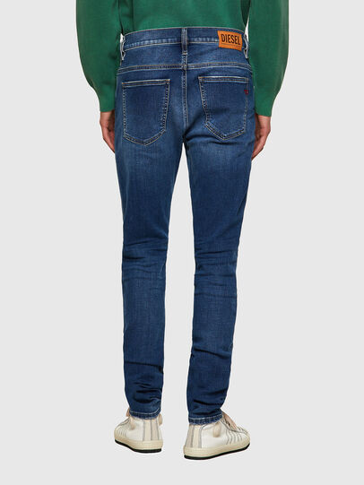 Diesel - D-Istort Skinny Jeans 009PU, Medium Blue - Jeans - Image 2