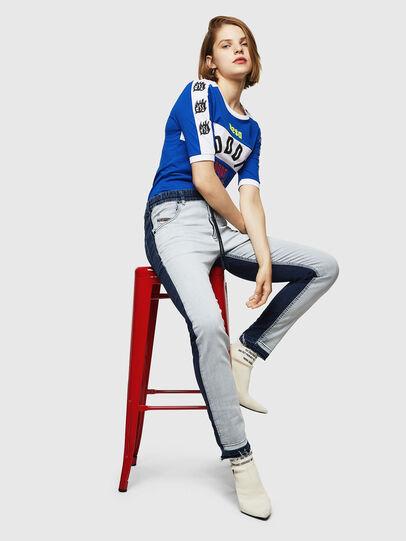 Diesel - Krailey JoggJeans 0870R, Medium Blue - Jeans - Image 5