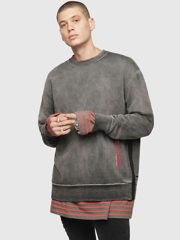 S-BAY-YA, Black/Grey - Sweatshirts