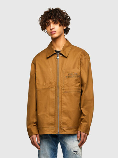 Diesel - S-RAFF, Light Brown - Shirts - Image 1