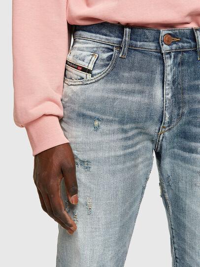 Diesel - D-Strukt Slim Jeans 009UI, Light Blue - Jeans - Image 3