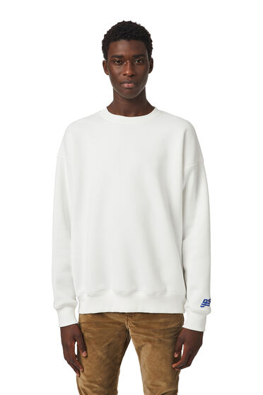 Sweatshirt with DSL wave patch