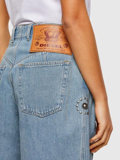Diesel - D-Concias Boyfriend Jeans 009RQ, Light Blue - Jeans - Image 4