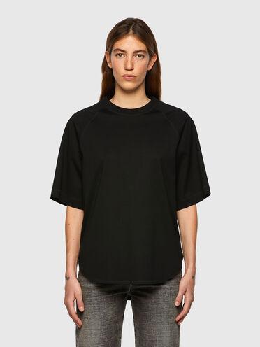 Half-sleeve T-shirt in Supima cotton