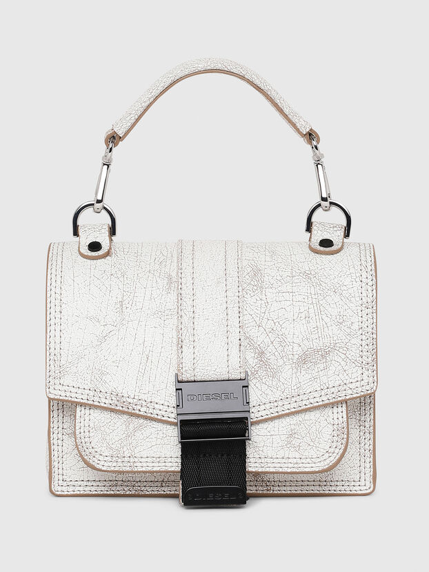 MISS-MATCH CROSSBODY, White - Crossbody Bags