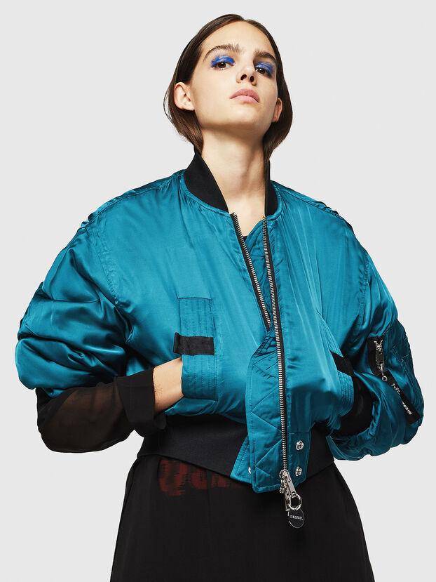 W-BRESHA, Blue Marine - Winter Jackets