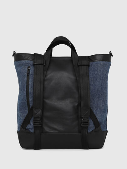 Diesel - SALZANO, Blue/Black - Shopping and Shoulder Bags - Image 3