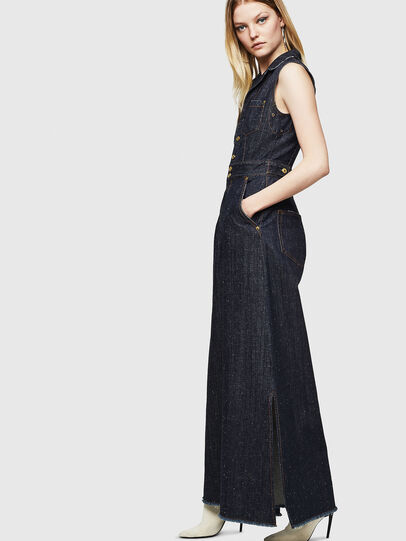 Diesel - DE-GRACE, Dark Blue - Jumpsuits - Image 5