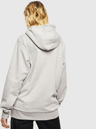 Diesel - S-GIR-HOOD-DIVISION-, Grey - Sweatshirts - Image 4