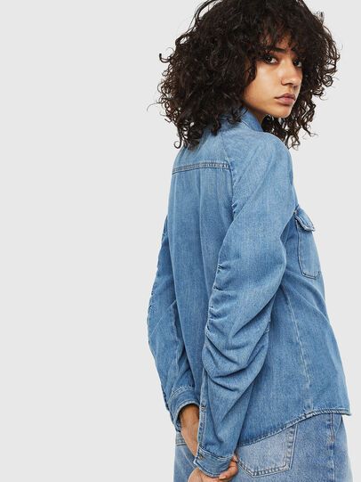 Diesel - DE-RINGY-R, Light Blue - Denim Shirts - Image 2