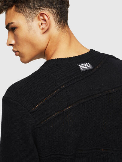 Diesel - K-PATHY, Black - Sweaters - Image 4