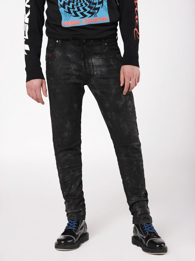 Krooley JoggJeans 069AS, Black/Dark Grey - Jeans