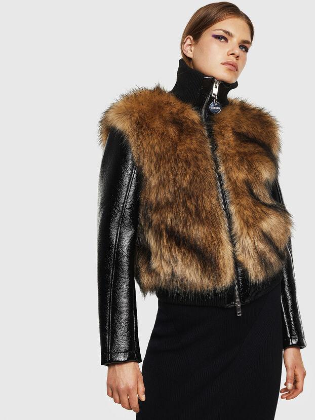 L-BURG,  - Leather jackets