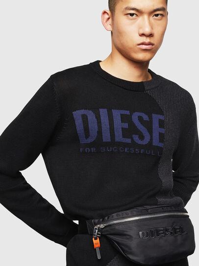 Diesel - FELTRE, Black - Belt bags - Image 6