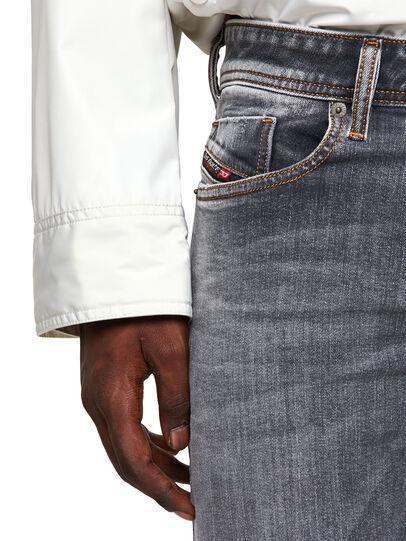 Diesel - Sleenker Skinny Jeans 009FW, Light Grey - Jeans - Image 4