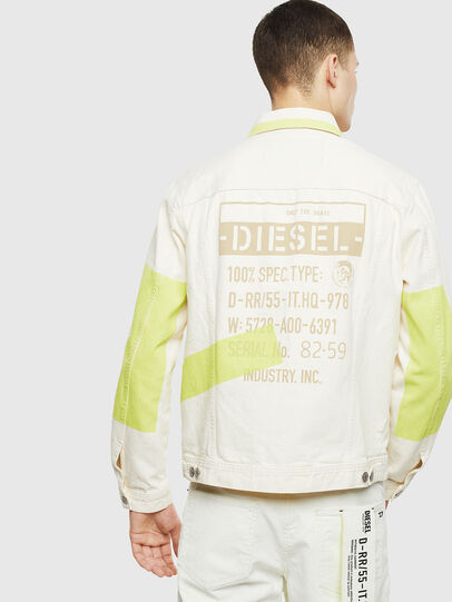 Diesel - NHILL-SP, White - Denim Jackets - Image 2