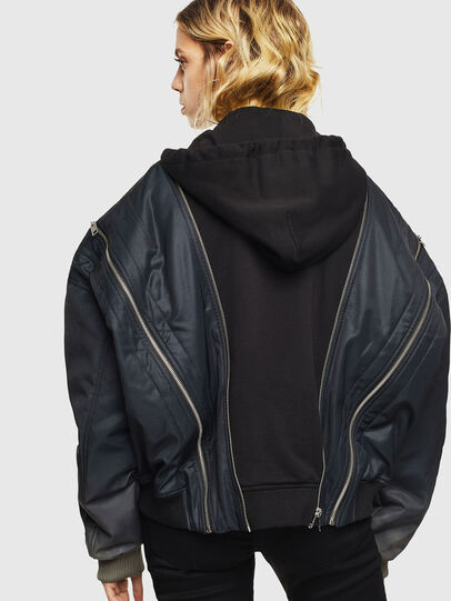 Diesel - G-MONIFA, Black/Blue - Jackets - Image 2
