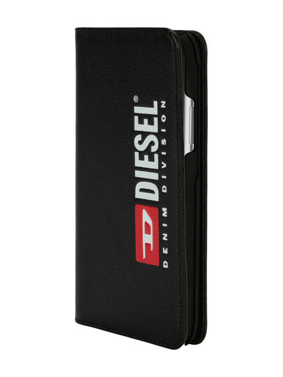 Diesel - DIESEL 2-IN-1 FOLIO CASE FOR IPHONE XS & IPHONE X, Black - Flip covers - Image 3