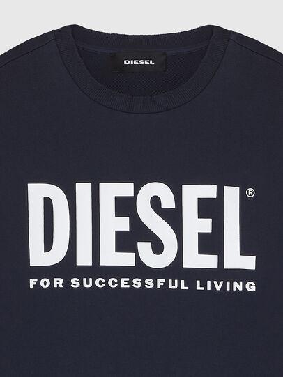 Diesel - S-GIR-DIVISION-LOGO, Dark Blue - Sweatshirts - Image 3