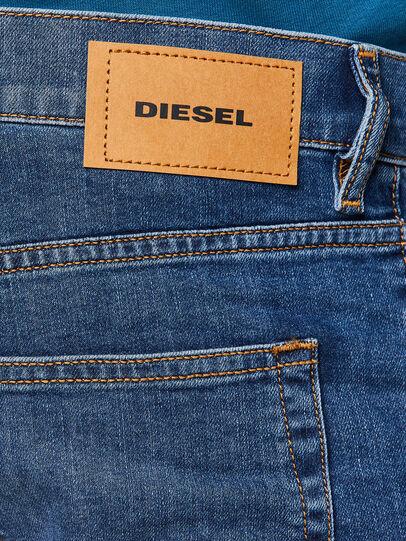 Diesel - D-Luster Slim Jeans 009DG, Medium Blue - Jeans - Image 4