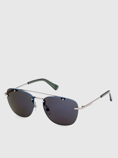 Diesel - DL0350, Grey/Blue - Sunglasses - Image 2