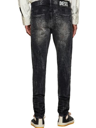 Diesel - D-Amny Skinny Jeans 009PX, Black/Dark Grey - Jeans - Image 2