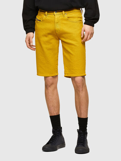Diesel - D-STRUKT-SHORT-SP, Yellow - Shorts - Image 1