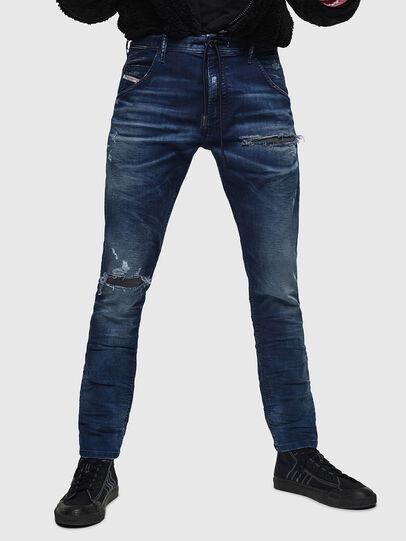 Diesel - Krooley JoggJeans 069JE, Dark Blue - Jeans - Image 1