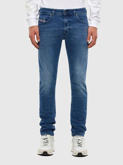 Diesel - Thommer Slim Jeans 009MB, Medium Blue - Jeans - Image 1