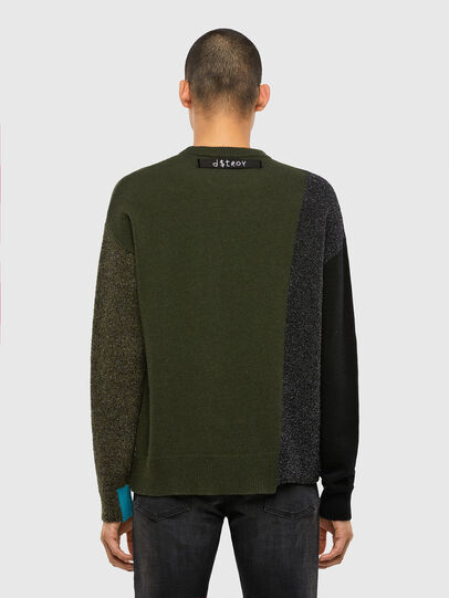 Diesel - K-MOSES, Olive Green - Sweaters - Image 2