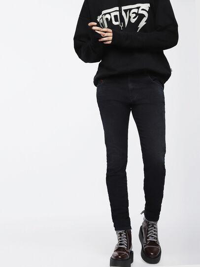 Diesel - Krailey JoggJeans 069CM, Black/Dark Grey - Jeans - Image 1