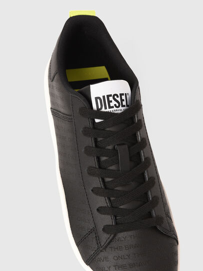 Diesel - S-CLEVER LOW LACE, Black/Yellow - Sneakers - Image 4