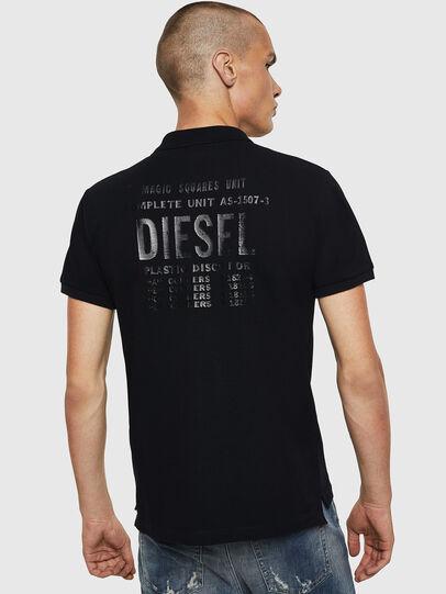 Diesel - T-SKATT-B2, Black - Polos - Image 2
