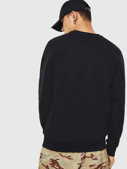 Diesel - S-GIRK-S3, Black - Sweatshirts - Image 2