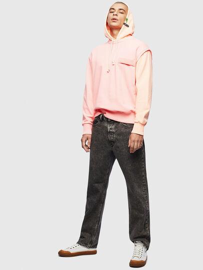 Diesel - S-CRAZY, Pink - Sweatshirts - Image 7