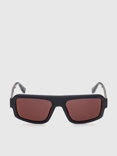 Diesel - DL0348, Black/Red - Sunglasses - Image 1
