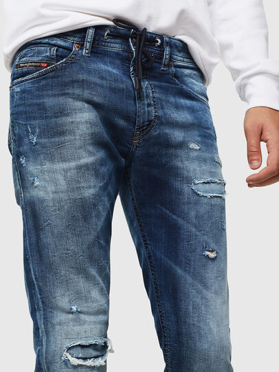 Diesel - Thommer JoggJeans 0685I, Medium Blue - Jeans - Image 3