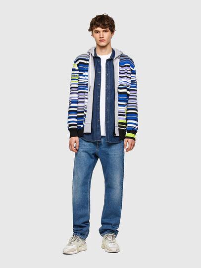 Diesel - K-CITRIN, Grey/Blue - Sweaters - Image 5