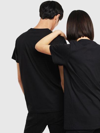 Diesel - CL-T-DIEGO-1, Black - T-Shirts - Image 3