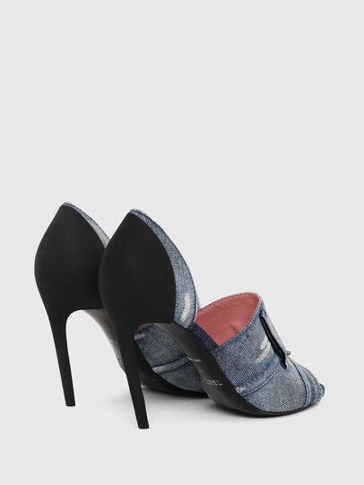 Diesel - SA-SLANTY OTD, Blue Jeans - Sandals - Image 3