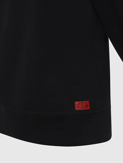 Diesel - UMLT-WILLY, Black - Sweatshirts - Image 4